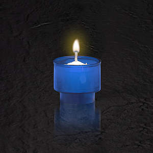 Blue Disposable Votive Light (Package of 144)