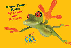 Grow, Proclaim, Serve! Frog Postcard (Package of 25)