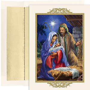 Holy Family Christmas Collection Boxed Cards - Box of 18