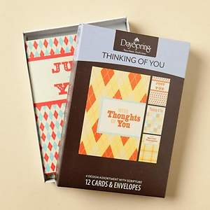 Quilts & Plaids - Thinking of You Boxed Cards - Box of 12
