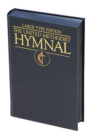 The United Methodist Hymnal Navy Blue Large Type Edition