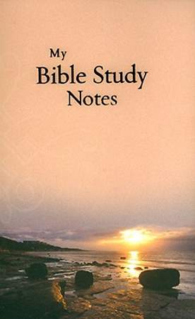 Notebook My Bible Study Notes
