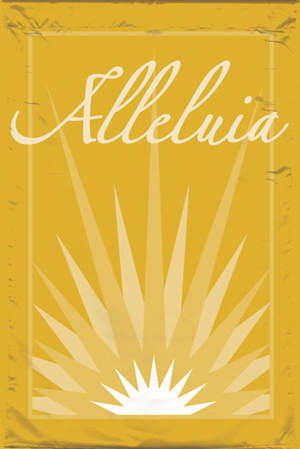 Alleluia Easter Season Services Banner