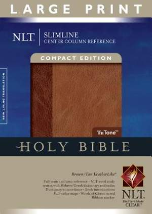 New Living Translation Slimline Center Column Reference Bible