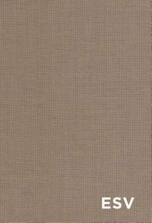 ESV Student Study Bible (Cloth Over Board, Tan)