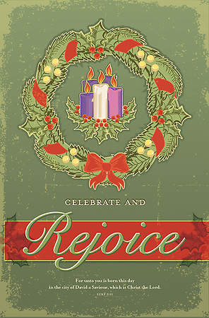 Advent Rejoice Bulletin (Pack of 100)