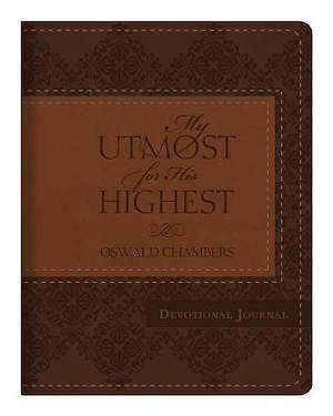 My Utmost for His Highest Devotional Journal