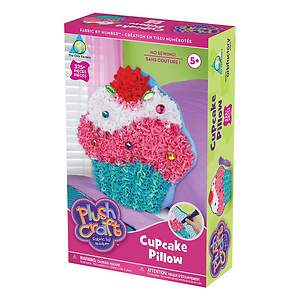 Plush Craft Cupcake Pillow