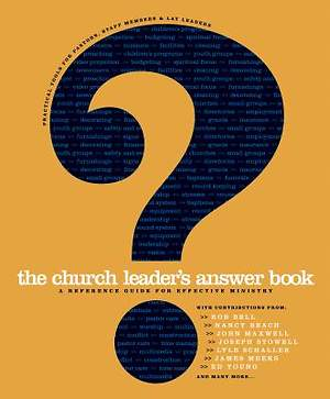 The Church Leader`s Answer Book