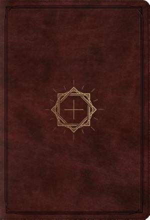ESV Student Study Bible (Trutone, Mahogany, Crown and Cross Design)