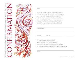 Community Confirmation Certificate (Package of 12)