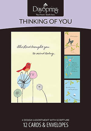 Graceful Moments - Thinking of You Boxed Cards - Box of 12