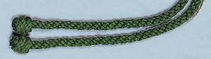 Green Rope Cincture, 4 Yards