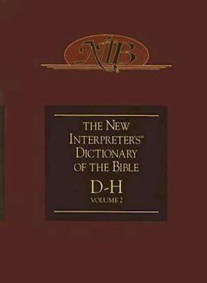 New Interpreter's Dictionary of the Bible Volume 2 - NIDB