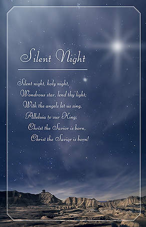 Silent Night, Holy Night Bulletin Pack 100