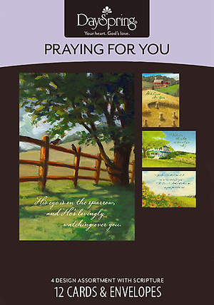 Meadows - Praying for You Boxed Cards - Box of 12