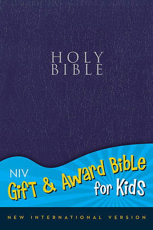 New International Version Gift and Award Bible for Kids