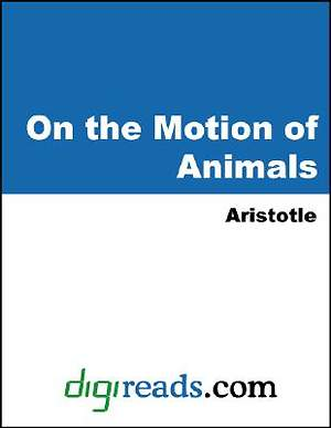 On the Motion of Animals [Adobe Ebook]