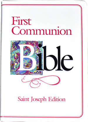 Bible NAB First Communion Saint Joseph
