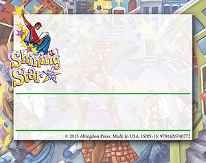 Vacation Bible School (VBS) 2015 Shining Star Nametags (Pkg of 24)