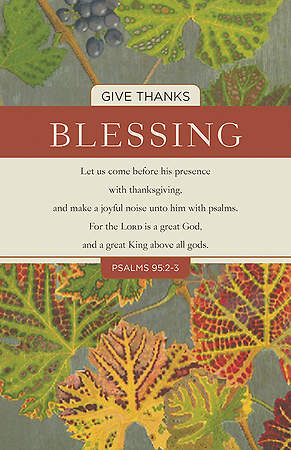 The Blessing Bulletin - Package of 100
