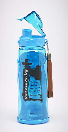 Saved by Grace Water Bottle