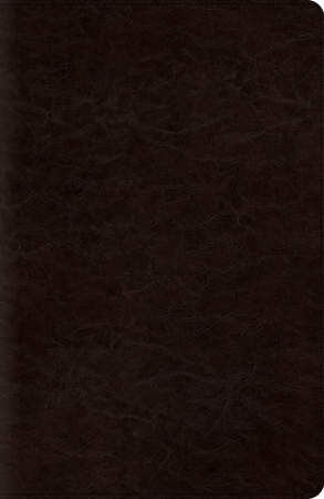 ESV New Classic Reference Bible (Trutone, Coffee)
