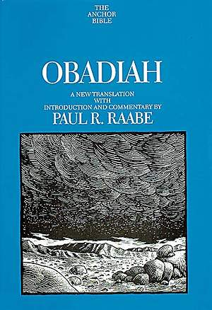 Anchor Bible - Obadiah Volume 24D