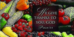 We Give Thanks/Thanksgiving Offering Envelope 2013 (Package of 50)