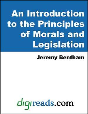 An Introduction to the Principles of Morals and Legislation [Adobe Ebook]