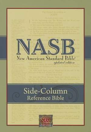 NASB Side-Column Reference Wide Margin Bible