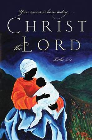 Christ the Lord Christmas Nativity Bulletin 2014, Regular (Package of 50)