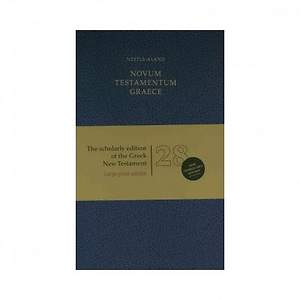 Scholarly Edition of the Greek New Testament-FL-Large Print