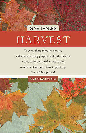 The Harvest Bulletin - Package of 100