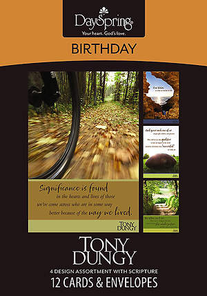 Tony Dungy - Birthday Boxed Cards - Box of 12