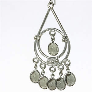 India Earrings - Teardrop