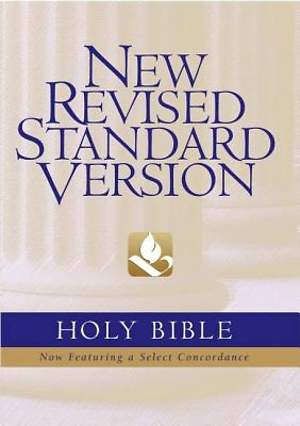 Holy Bible New Revised Standard Version Black Leather