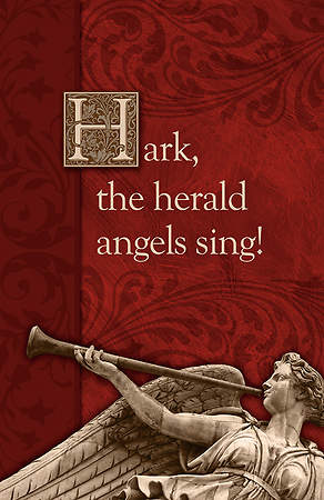 Hark the Herald Angels Sing Bulletin (Pack of 100)