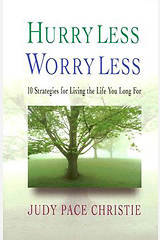 Hurry Less, Worry Less - eBook [ePub]