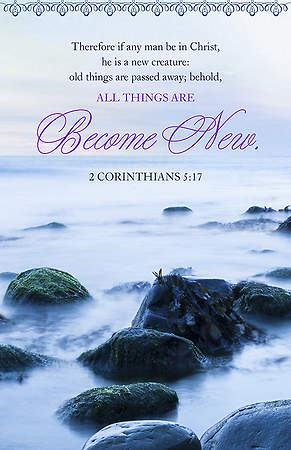 All Things Become New Bulletin Pack of 100
