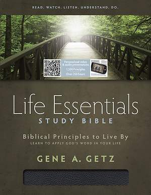 Life Essentials Study Bible Indexed