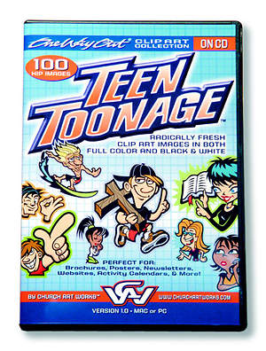 Teen Toonage Clip Art Collection