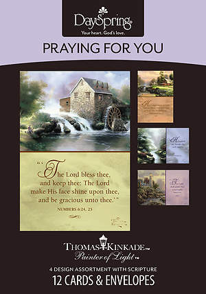 Thomas Kinkade - Praying for You Boxed Cards - Box of 12