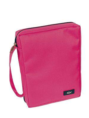 Bible Cover Canvas Pink Medium
