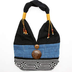 Thai Cloth Bag - Blue
