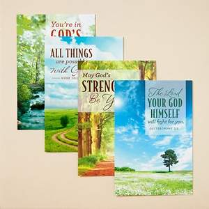 God's Care - Difficult Times Boxed Cards - Box of 12
