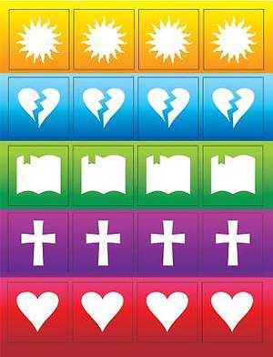 Gospel Light SonSpark Daily Plan Stickers Pack of 100