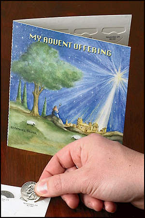 Bethlehem Advent Offering Folder (Pack of 50)
