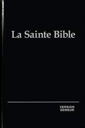 French Bible Hc