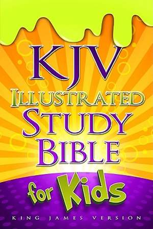 King James Version Illustrated Study Bible for Kids